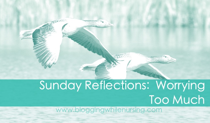 Sunday Reflections: Worrying Too Much