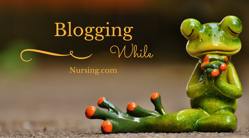 Blogging While Nursing